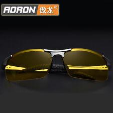 Men Polarized Night Vision Glasses Aluminum Magnesium Driving Eyewear Sunglasses