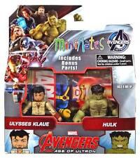 Marvel Avengers Minimates Serie 63 Hulk & Ulysses Klaue - Diamond Select