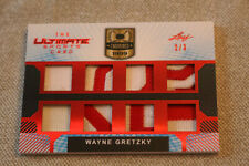 WAYNE GRETZKY 2019 LEAF ULTIMATE SPORTS 8 GAME USED JERSEY PATCH PIECES #2/3
