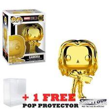 Marvel Studios 10th Anniversary Gamora Gold Chrome Funko Pop Vinyl