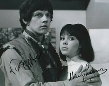 More details for doctor who autograph: frazer hines & wendy padbury signed photo