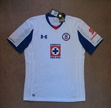 Under Armour Cruz Azul 2014/15  away jersey NEW   LARGE  NWT tags  $84.99