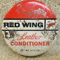 Vintage Red Wing Shoes Leather Conditioner Weather Protection for Leather Boots