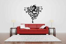 Wall Vinyl Sticker Room Decals Mural Design Art Tattoo Dragon bo105