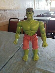 1978 Vintage MEGO Marvel Comics Group Incredible Hulk Action Toy Figure W/Shorts
