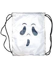 Geister-Rucksack für Kinder Halloween-Accessoire weiss-schwarz - Cod.305543