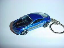 NEW 3D BLUE BENTLEY CONTINENTAL SUPERSPORTS CUSTOM KEYCHAIN keyring key BOSS!