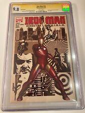 Iron Man #15B SS STAN LEE SIGNED CGC 9.8 STERANKO INSPIRED GRANVO Variant