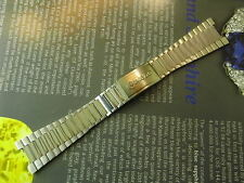 80'S OLD STOCK RADO(SK OEM) SOILD STEEL SPECIAL END 12-24MM WATCH BAND FIT OMEGA