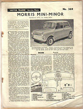 Morris Mini Minor Motor Trader Service Data No. 369 1961