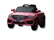 Auto Macchina Elettrica per Bambini modello Baby Fun Rosa 12V MP3 con Telecomand