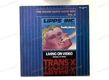 Lipps Inc. / Trans-X - Funkytown / Vivre Sur Vidéo GER Maxi 1986 //2