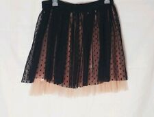 Black and Pink Tutu Skirt Size M