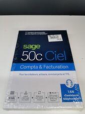 Sage 50c Compta Facturation 1 An D'assistance