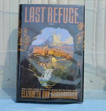 Last Refuge by Elizabeth Ann Scarborough Signed 1st Edition HardCover DustJacket