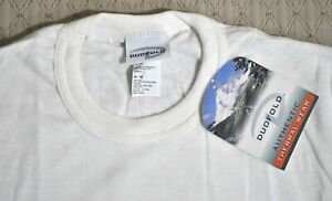 NWT Vintage DUOFOLD 2Layer THERMAL L/S Base Layer SHIRT Sz M Wool Blend USA Made