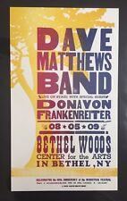 Dave Matthews Band &  Donavon Frankenreiter Hatch Show Print Concert Poster DMB