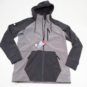 $150 North Face Men's Longtrack Softshell Jacket Size Medium/Large Grey NEW
