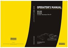 NEW HOLLAND E215C E245C EXCAVATOR OPERATORS MANUAL