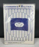 Vintage NOS Unused USAF Danmarks Military Occupational Badge Patch