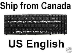 Keyboard for ASUS U56 U56E U52 U52F U53 U53F V111462DS1 04GNZ51KUS00-1