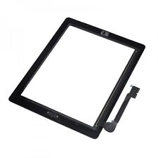 Kit Vetro Touch screen per Apple Ipad 3 New+Tasto Home+Colla Biadesivo display