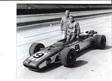 MIKE MOSLEY A J WATSON G C MURPHY SPECIAL #9  1970 INDY 500 8 X 10 PHOTO