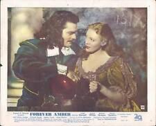 FOREVER AMBER LINDA DARNELL CORNEL WILDE LOBBY CARD #A2