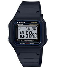 Casio Men's W217H-1A Classic Casual Digital Watch 50M