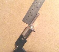 Nickel Finish Cylinder  Desk Drawer Lock 2 Keys New