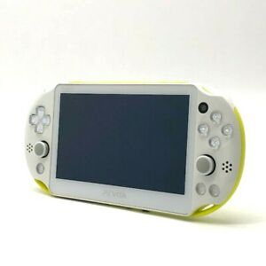 SONY PS Vita PCH-2000 Slim Lime Green White Wi-Fi LCD Console only