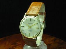 Bergana 14kt 585 Gold Gelbgold Handaufzug Herrenuhr / Kaliber ETA 2301