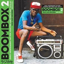 BOOMBOX 2 (1979-1983) EARLY INDIE HIPHOP,ELECTRO,DISCO RAP  2 CD NEW+
