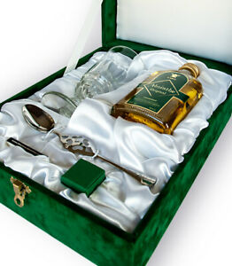 Beautiful Luxury Absinthe Starter Gift Set with Absinthe Glass and Special Spoon