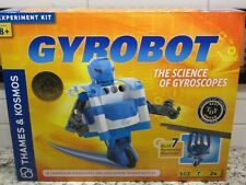 Thames & Kosmos Gyrobot Gyroscopic Robot Kit - 102 Pieces 7 experiments - NIB