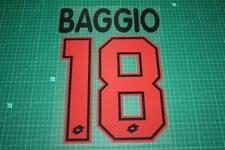 AC Milan 95/97 #18 BAGGIO Awaykit Nameset Printing