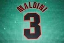 AC Milan 98/00 #3 MALDINI Awaykit Nameset Printing