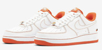 Nike Air Force 1 '07 LV8 Rucker Park White/Orange Size 10.5 CT2585-100 Brand New
