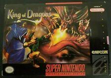 King of Dragons SNES (Super Nintendo Entertainment System) CIB