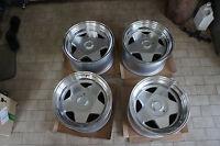 """JDM 17"""" Borbet Style wheels 180sx dc2 240sx BBS modena s1 114.3x4 100x4 civic rs"""