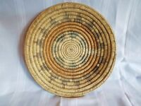 "Vintage Native American Navajo Indian Wedding Ceremonial 12.75"" Basket 40's 50's"