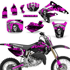 Decal Graphic Kit Honda MX CR85R Bike Sticker Wrap with Backgrounds 03-07 REAP P