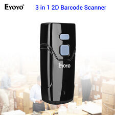 EYOYO 2.4G Wireless & Wired 2D Barcode Scanner Reader for iPad Android Tablets
