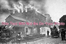 HF 315 - Fire At Cabinet Factory, Watford, Hertfordshire 1910 - 6x4 Photo