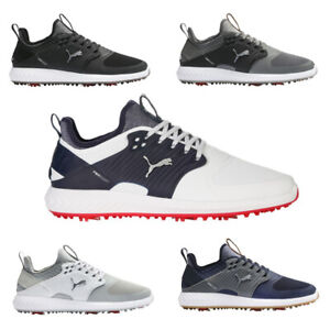 Puma IGNITE PWRADAPT Caged Wide Golf Shoes  Tornado Cleats  Style 192413