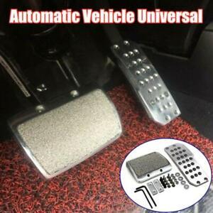 Car Footplate Antiskid Plate Pad Brake Transmission Automatic Universal Aluminum