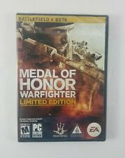 Brand New Sealed Medal Of Honor Warfighter Limited Edition PC Game Frostbite 2
