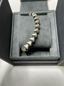 David Yurman mens armory bracelet medium silver