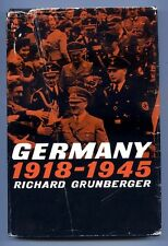 GERMANY 1918-1945 by Richard Grunberger (1966) - Hardback
