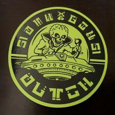 Dutch Bros Coffee Area 51 Sticker 9/6/19 Glow In The Dark Limited Edition Alien